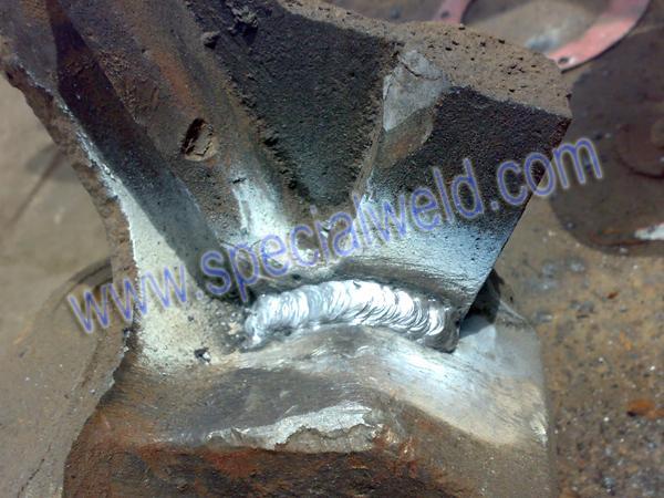 铸铁裂纹修复